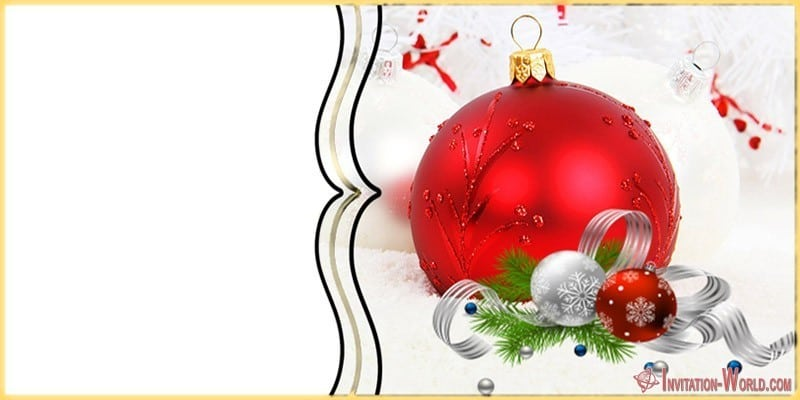 Christmas Invitation Template - Christmas Invitation Template