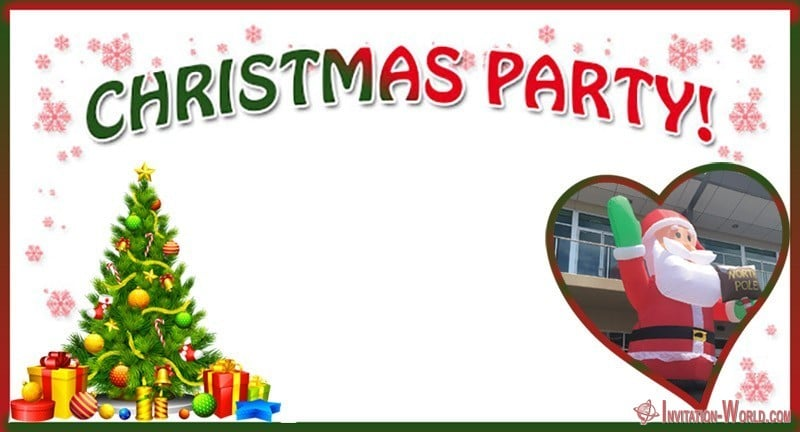 Christmas Party Free Template - 11 Free Christmas Invitation Templates