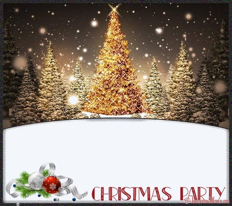 Christmas Party Invitation - 11 Free Christmas Invitation Templates