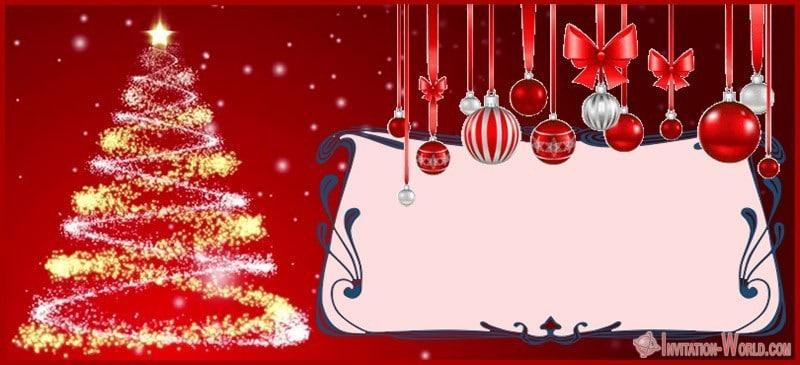 Christmas Template - 11 Free Christmas Invitation Templates