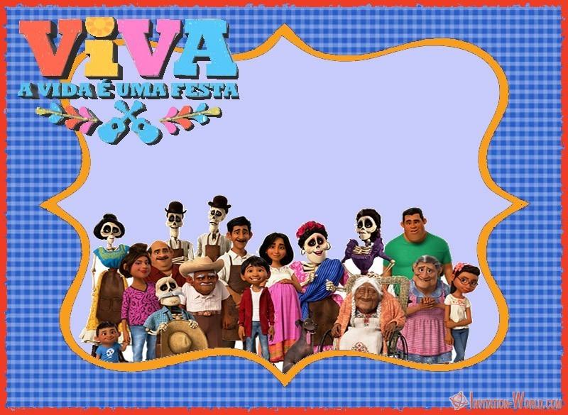 Coco Party Invitation Template - 9 Free Coco Invitation Card Templates
