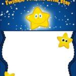 Custom Twinkle Twinkle Little Star Template 150x150 - Custom Stars birthday invitation