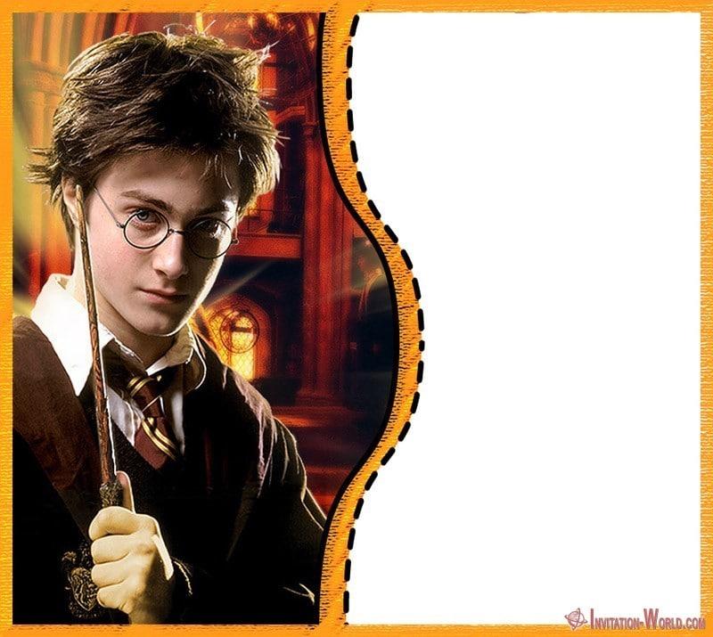 DIY Harry Potter Invitation Card - 9+ Free Harry Potter DIY Invitations