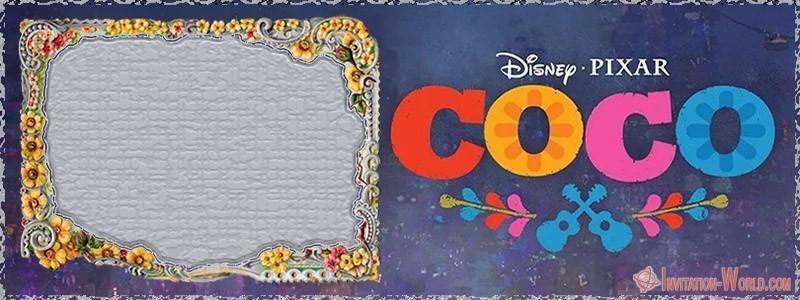Editable Coco Template - 9 Free Coco Invitation Card Templates