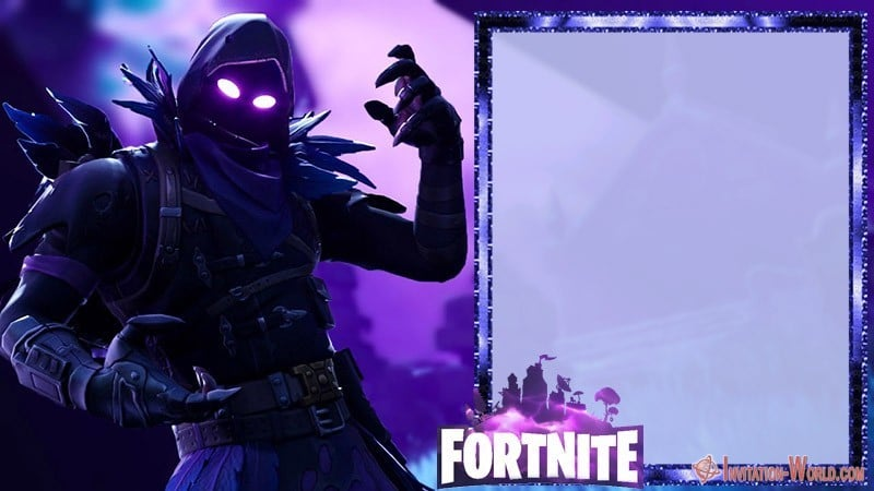 Fortnite birthday invitation template - 8 Fortnite Invitation Templates for Epic Party
