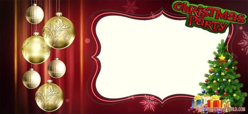 Free Christmas Invitation Template - 11 Free Christmas Invitation Templates