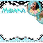 Free Moana Invitation 150x150 - Moana Invitation Design
