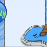 Free Pool Party Invitation