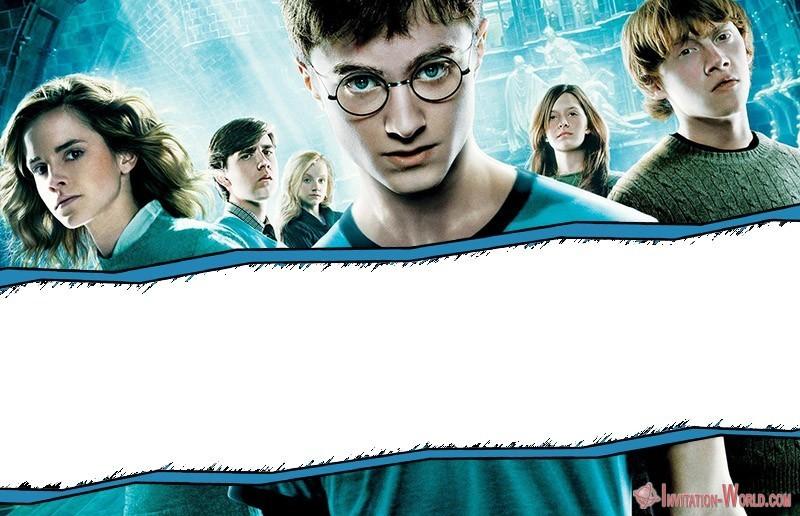 Harry Potter Invitation Online - 9+ Free Harry Potter DIY Invitations