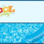 Pool Party Invitation Card 150x150 - Pool Party Invitation Template