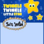 Twinkle Twinkle Little Star Invitation Design 150x150 - Twinkle twinkle little star Invitation Template