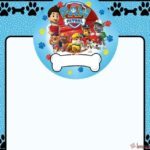 Paw Patrol template for boys 150x150 - Printable Everest Invitation