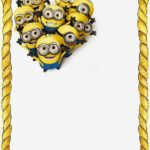 Printable Minions Template 150x150 - Printable Minions Birthday Party Invitation