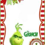 Grinch First Birthday Invitation Template 150x150 - Grinch Invitation Empty