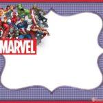 Marvel Superheroes Invitation Template 150x150 - Marvel Comics Superhero Invitation