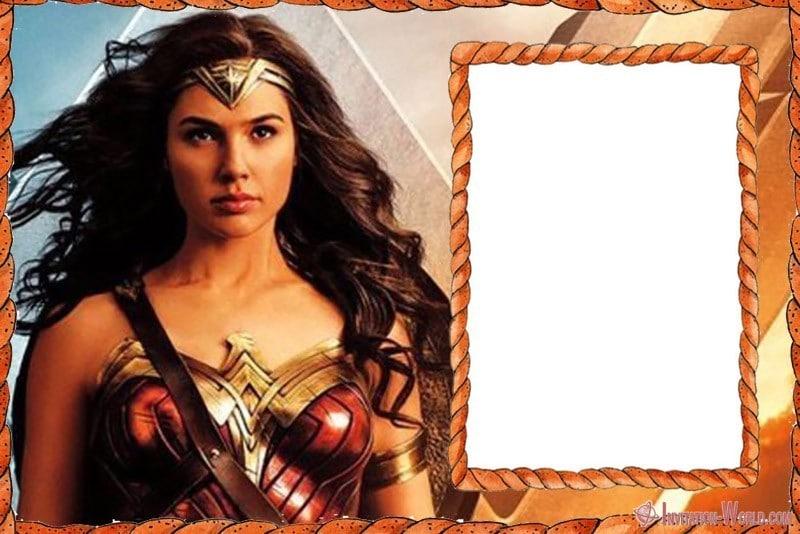 Wonder Woman Movie Invitation Design - Wonder Woman Movie Invitation Design