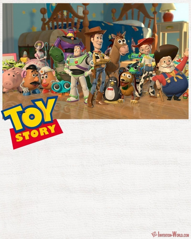 Editable Toy Story Invitation Card - Toy Story Invitations - Free Download
