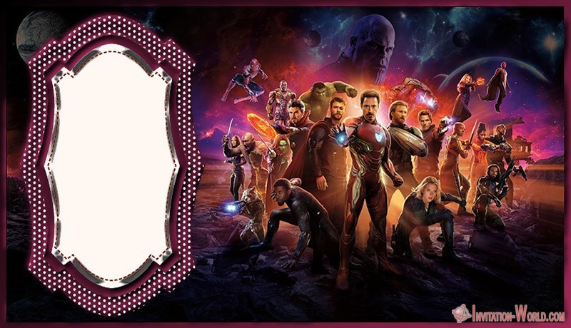 Free Avengers Template - Venom Invitation Templates - Free and Printable