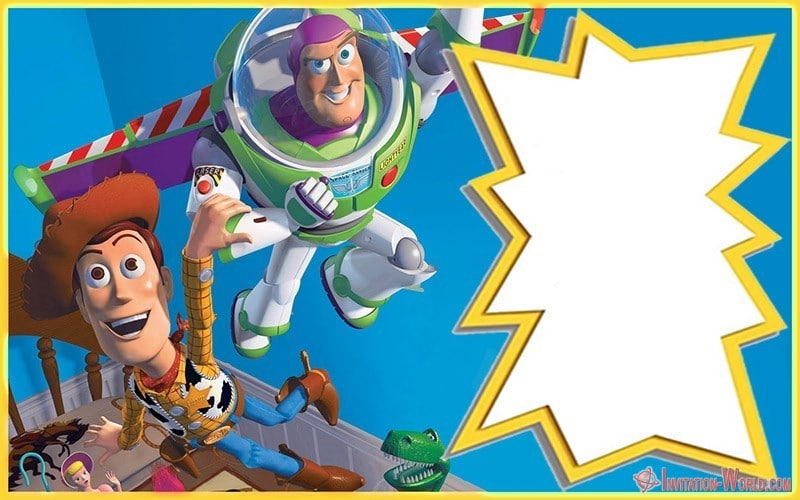 Free Online Toy Story Invite - Toy Story Invitations - Free Download