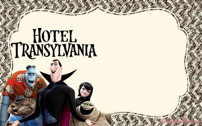 Hotel Transylvania Invitation Blank 150x150 - Hotel Transylvania Invitation Template