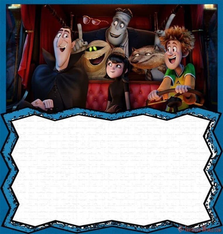 Hotel Transylvania Invitation Template - Hotel Transylvania Invitation Template