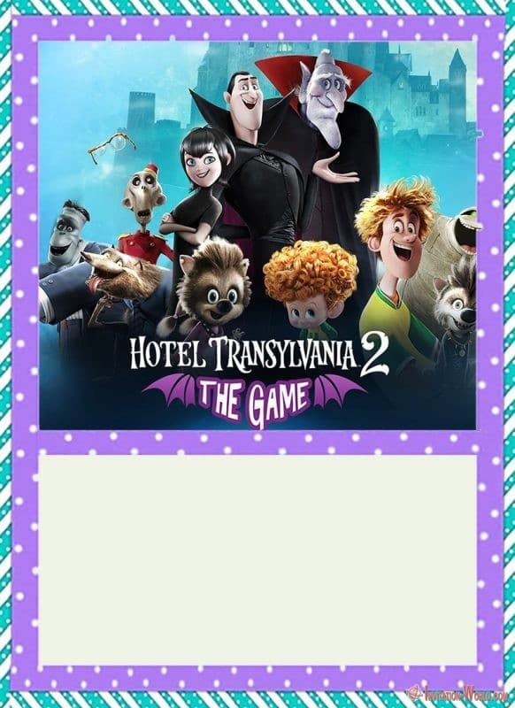 Hotel Transylvania Party Invitation - 8+ FREE Hotel Transylvania Invitation Templates