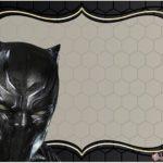 Marvel Black Panther Invitation Design Free