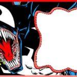 Marvel Venom Invitation Card