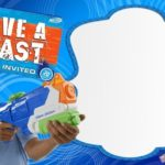 Nerf Gun Party Invitations Template Free 150x150 - Nerf War Party Invitation Card