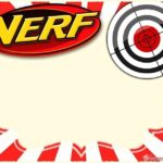 Nerf War Party Invitation Card