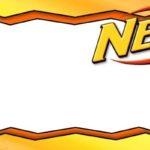 Printable Nerf Template Blank
