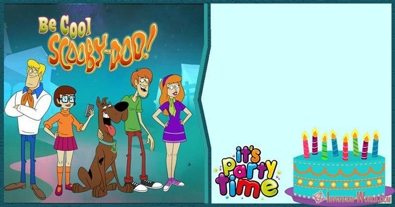 Scooby Doo Birthday Party Invitation - Scooby-Doo Birthday Invitation - Blank Templates