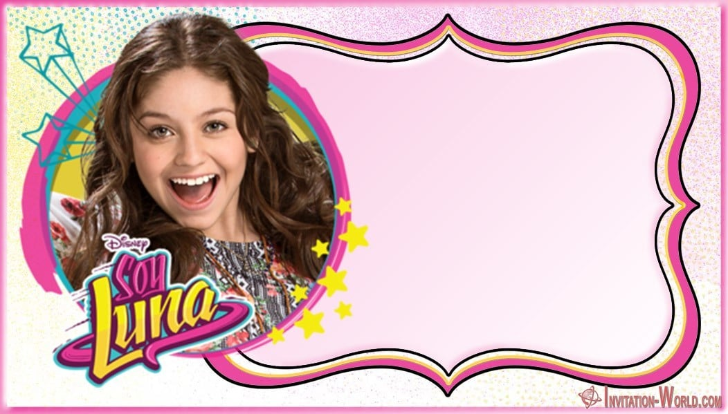 Soy Luna Birthday Invitation - Soy Luna Birthday Party Invitations