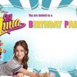 Soy Luna Birthday Party Invitation Printable 150x150 - Soy Luna Birthday Invitation