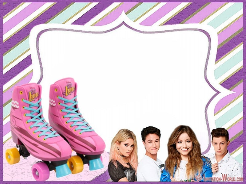 Soy Luna Invitation Card - Soy Luna Invitation Card