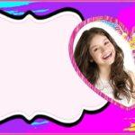 Soy Luna Invitation Template 150x150 - Soy Luna party Invitation Card