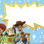 Toy Story birthday invitation template 150x150 - Jessie Toy Story printable invitation card