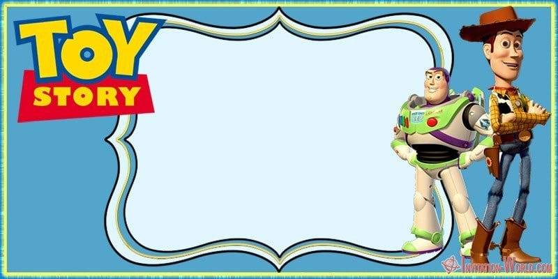 Toy Story birthday party invitation free - Toy Story Invitations - Free Download