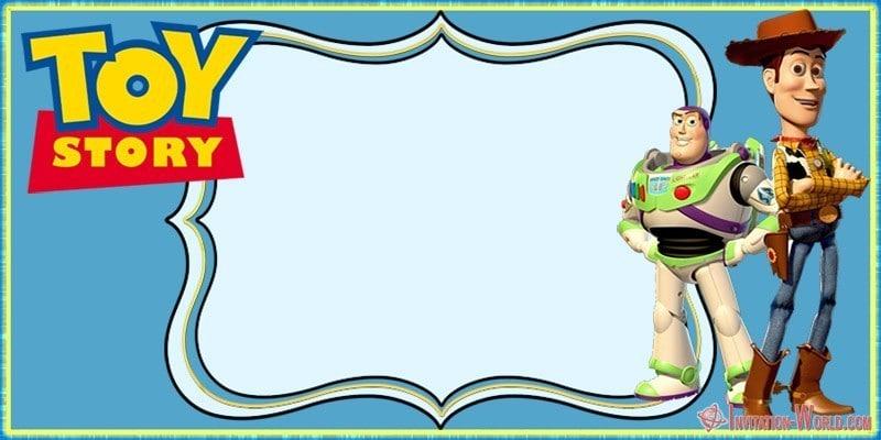 Toy Story birthday party invitation free - Toy Story birthday party invitation free