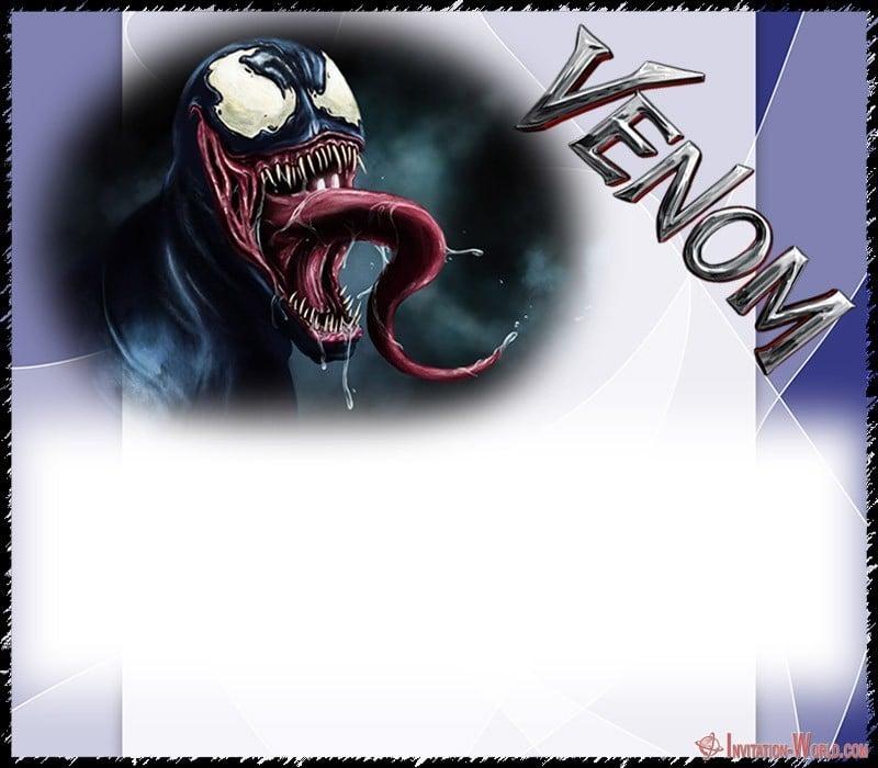 Venom Template Design 150x150 - Venom Invitation Template