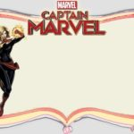 Captain Marvel Free Invitation Template 150x150 - Captain Marvel Blank Template