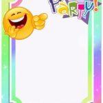 Emoji Invitation Template 150x150 - Emoji Movie Invitation Template Blank