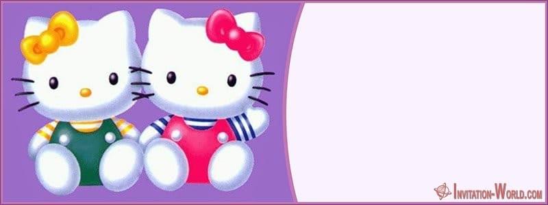 Hello Kitty Invitation Printable - Hello Kitty Invitation Printable