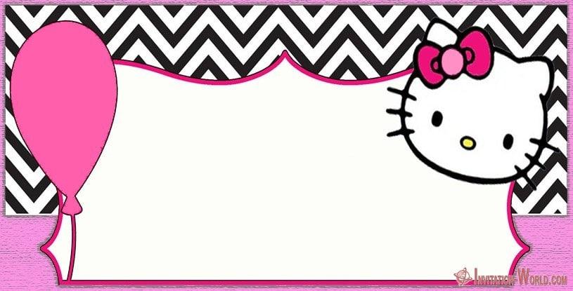 Hello Kitty Invitation for Girls - Hello Kitty Invitations - Free Printable Templates