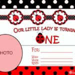 Ladybug First Birthday Invitation 150x150 - Ladybug free invitation template