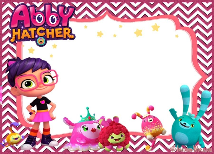 Abby Hatcher Birthday Invitation Online - Abby Hatcher Invitation Templates