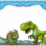 Dinosaur Birthday Invitation Template Free 150x150 - Dinosaur Birthday Invitation Card