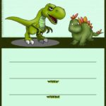 Dinosaur Birthday Party Invitation Card 150x150 - Dinosaur Party Invitation