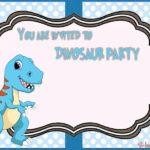 Dinosaur Party Invitation 150x150 - Pink Dinosaur Invitation Template