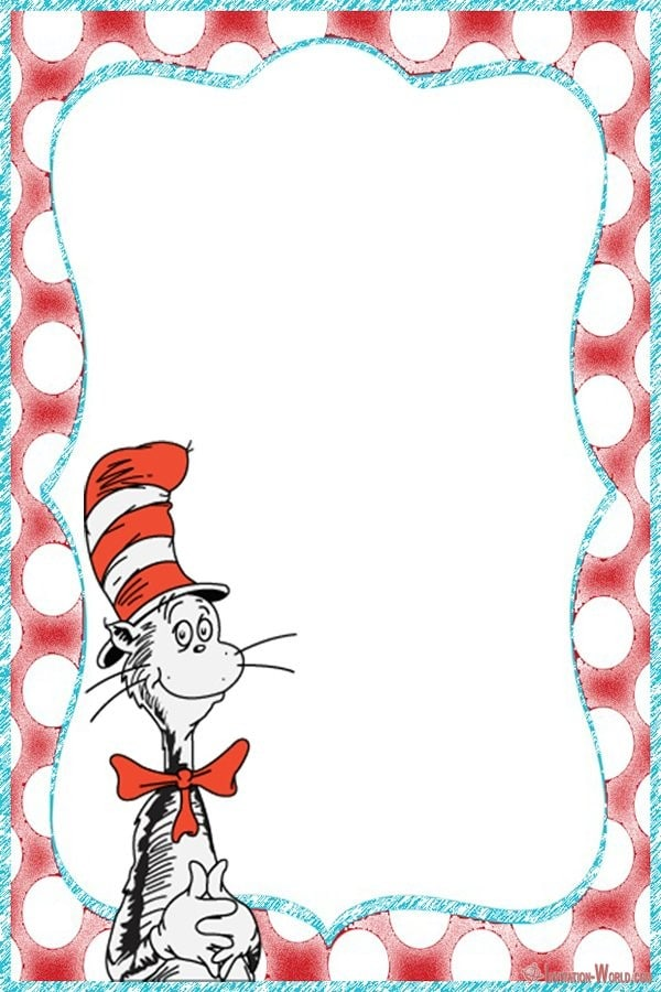 Dr. Seuss The Cat in the Hat Invitation Card - Dr. Seuss Invitations for Perfect Party
